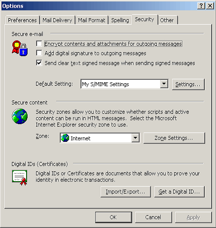 Outlook (PC) | Digi-Sign, The Certificate Corporation