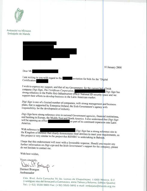Irish Embassy To South America English Version Digi Sign The